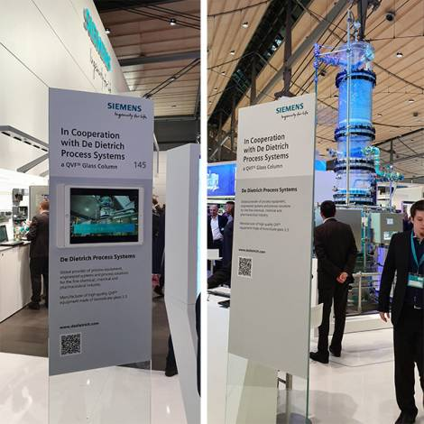 Cooperation of DDPS with SIEMENS at Hannover Fair 2019