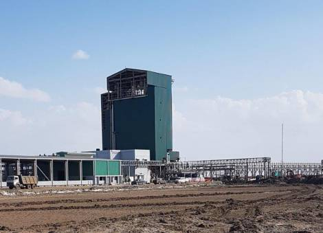 Building for Bromine Plant